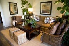 Salle de séjour confortable Photos stock