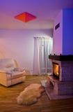 Salle de séjour confortable   image stock