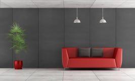 Salle de séjour contemporaine Image stock