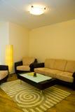 Salle de séjour d'un appartement image libre de droits