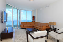 Salle de séjour de bord de mer Photo libre de droits