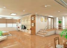 salle de séjour de conception illustration libre de droits