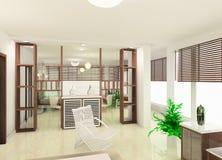 salle de séjour de conception Photo stock