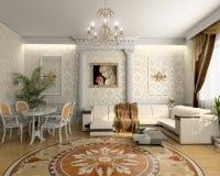 Salle de séjour de luxe Image stock