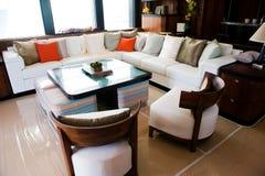 Salle de séjour de luxe Images libres de droits