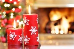 Salle de séjour de Noël Image stock