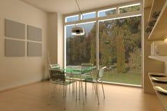 Salle de séjour moderne Images libres de droits