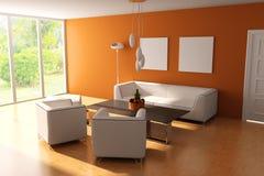 Salle de séjour moderne illustration libre de droits