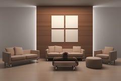 Salle de séjour moderne Images stock