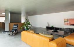 Salle de séjour moderne Photographie stock libre de droits