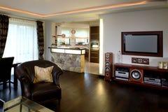 Salle de séjour spacieuse Image stock