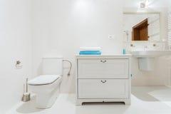 Salle de toilette élégante Photo libre de droits