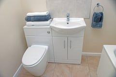 Salle de toilette Photos stock