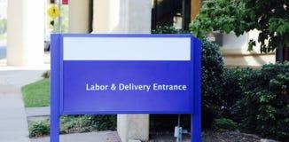 Salle de travail et accouchement images libres de droits