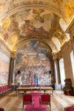 Salle des Illustres in the Capitole the Toulouse Royalty Free Stock Image