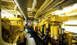 Salle des machines photo stock