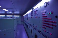 Salle des machines de bateau Images libres de droits
