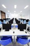 Salle des ordinateurs photographie stock libre de droits