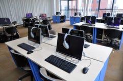 Salle des ordinateurs Image stock