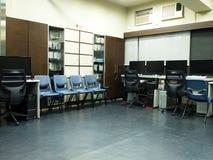 Salle des ordinateurs Photo libre de droits