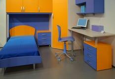 salle des ordinateurs d'enfants s Photos stock