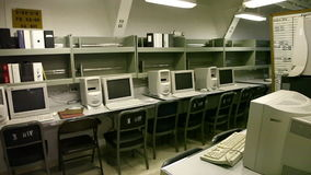 Salle des ordinateurs de cuirassé