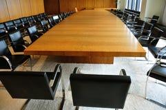 Salle du conseil d'administration Photo libre de droits