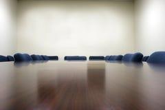 Salle du conseil d'administration de conférence Images stock
