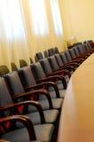 Salle du conseil d'administration vide Photographie stock libre de droits