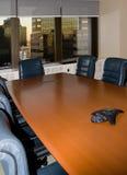 Salle du conseil d'administration vide Photographie stock