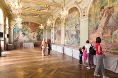 Salle Gervais dans Capitole de Toulouse Photographie stock libre de droits