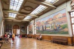 Salle Henri Martin in Capitole de Toulose Lizenzfreie Stockfotografie