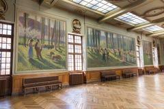 Salle Henri Martin in the Capitole de Toulose Stock Image