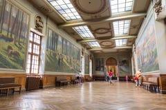 Salle Henri Martin en el Capitole de Toulose Imagen de archivo