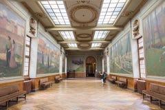 Salle Henri Martin en el Capitole de Toulose Fotos de archivo