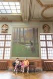 Salle Henri Martin en el Capitole de Toulose Fotos de archivo libres de regalías
