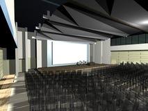 Salle moderne d'architecture Photos libres de droits