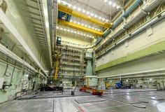 Salle RBMK de réacteur Photographie stock