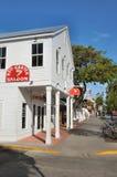 Salle rouge de jarretière, Key West la Floride Image stock