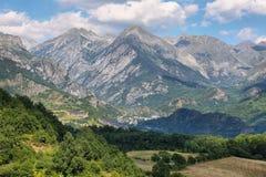 Sallent de Gallego and Foratata peak background, Spain Royalty Free Stock Image