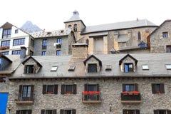 Sallent de Gallego Pyrenees stone village Huesca Stock Image
