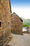 Sallent de Gallego Pyrenees stone village Huesca Stock Photography
