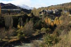 Sallent, village in Tena valley, Pyrenees Stock Photo