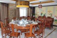 Salles à manger chinoises Image libre de droits