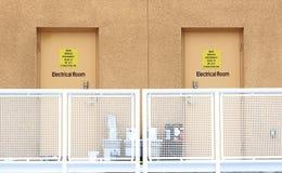 Salles électriques Photo stock