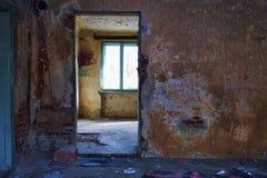 Salles abandonnées Photo libre de droits
