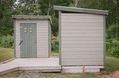 Salles de bains de parc Photos libres de droits