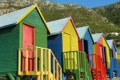 Salles de bains publiques de plage de St James en Muizenberg Photos stock