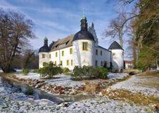 Sallgast palace in winter Stock Photo
