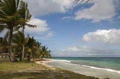 Sallie peachie beach corn island nicaragua. Sallie peachie beach on the malecon highway rural corn island nicaragua caribbean sea Royalty Free Stock Photography